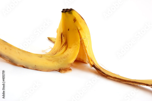 peel of a banana