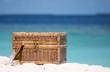 Leinwanddruck Bild - Picnic on the beach