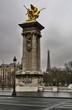 Paris Brücke Eifelturm