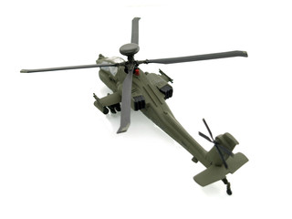 military toy helicopter