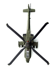 militaru toy helicopter