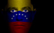 Venezuelan Flag - Male Face