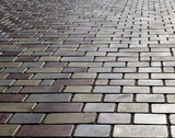Tiled pavement pattern poster