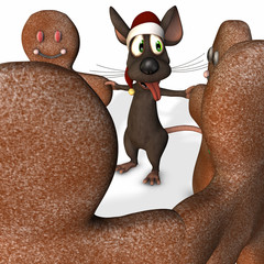 Christmas Mouse Dancing 2