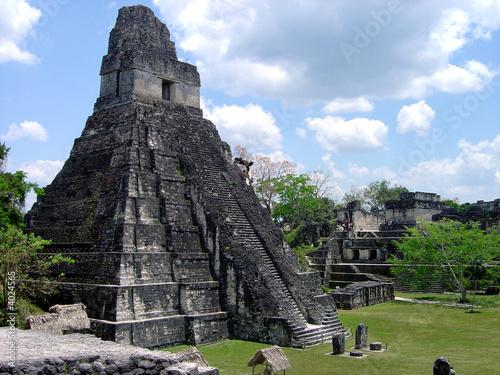 el Tikal Guatemala Guatemala Tikal Pyramide Maya