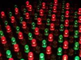 LED Array (light-emitting diods) poster