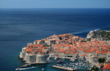 City of Dubrovnik, Croatia, Adriatic sea poster