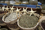 star fish and herbs, red sea region, sinai, egypt poster