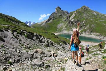 Randonnée lacs de montagne