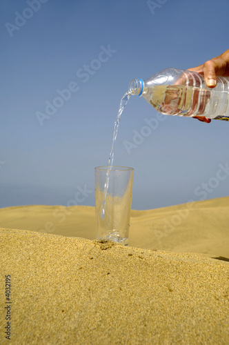 Fresh water and desert