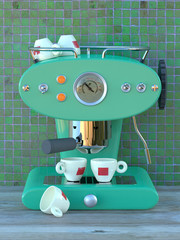Aqua Espresso Machine