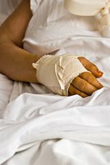 Hurting hand