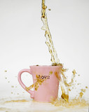 Coffee Splash Love Mug