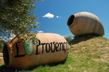 Two amphora, Provence, southern France poster