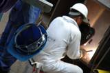 A Repair Man Busy Welding poster