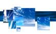sky montage design background