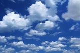 massive cumulus clouds poster