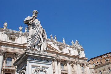 Monument in Vatican