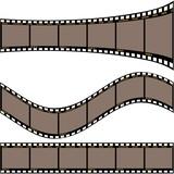 Film strip A - detailed illustration poster