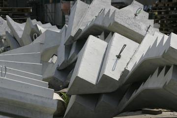 Treppen aus Beton