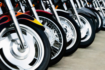 Motorcycle Bits: Wheels