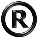 registered symbol poster