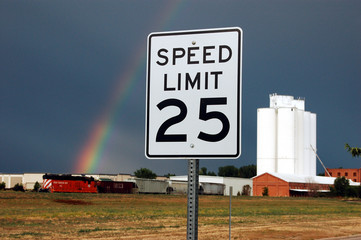 Rural Speed Limit of 25