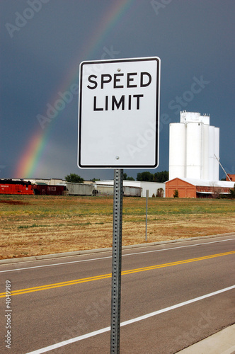 No Speed Limit - Rural Road