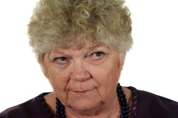 Serious Senior Lady 2