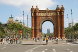 Arc de Triomf in Barcelona poster