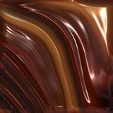 Melted chocolate poster