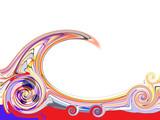 Welle und Spirale