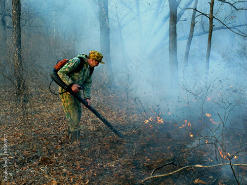 Suppression of Forest Fire 4