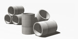 tuyaux de canalisation en beton