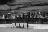 The New York City skyline from the Liberty State Park-