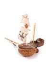 model of  ship poster