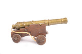 model of old cannon poster
