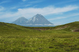 Volcano on Kamchatka poster