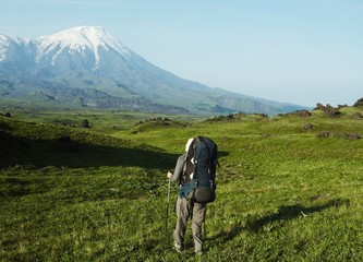 Hike on Kamchatka