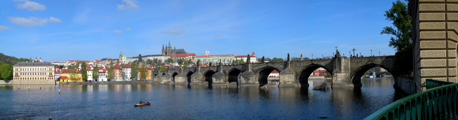 View at Charles Bridge