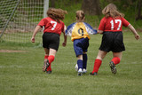 Youth Soccer or Football Player in Action 13 poster