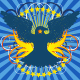 Crest Vector poster