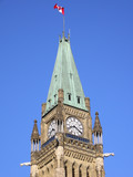 Canadian Parliament in Ottawa, Peace Tower poster