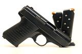 Semi-Automatic Handgun and Magazines poster