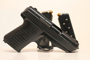 380 Semi Automatic Handgun with Magazines
