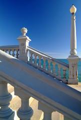 Escalier à Sitges