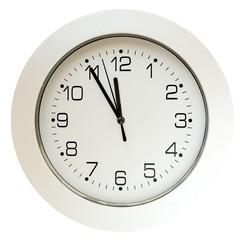 5 minutes to twelve