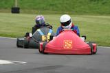 Two racing endurance karts poster