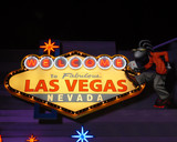 las vegas welcome sign poster