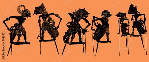 Leinwandbild Motiv Shadow Puppet